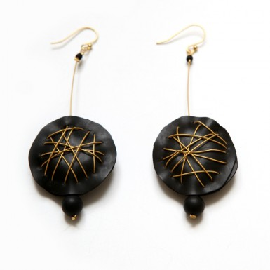 Neural Network earrings
