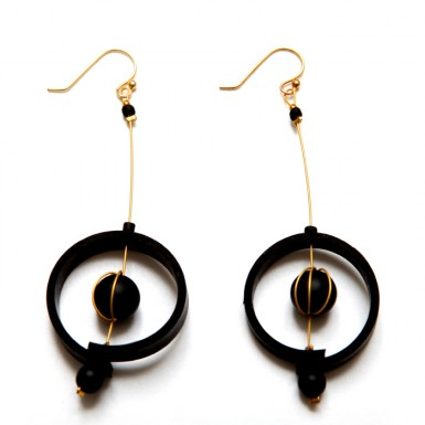 Nucleus earrings