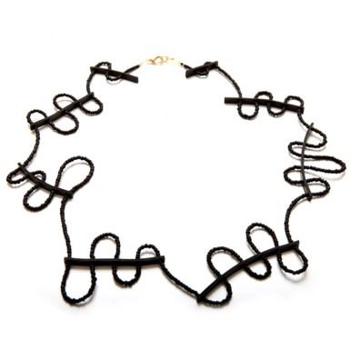 Scaffold necklace (extended)